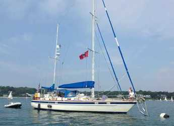 Rent a sailboat in American Yacht Harbor -  LOA Pearson Ketch Cutter 58