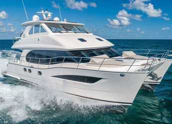 Rent a power catamaran  in Sopers Hole Marina - Horizon 52