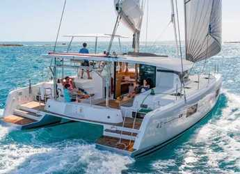 Rent a catamaran in Alimos Marina Kalamaki - Lagoon 42