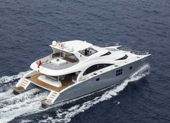 Rent a power catamaran  in ACI Marina Dubrovnik - Sunreef 70