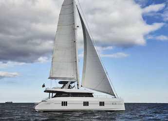 Rent a power catamaran in Marina di Olbia - Sunreef 60