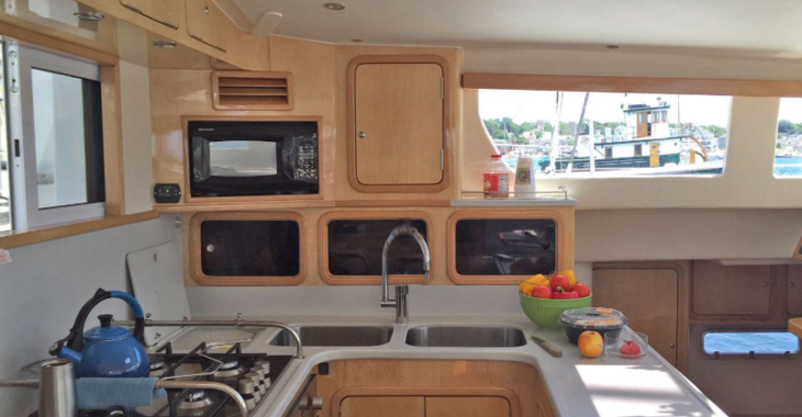 Rent a catamaran in Great Exuma - St. Francis 50