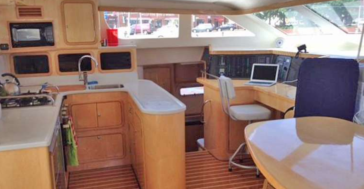Rent a catamaran in Emerald Bay Marina - St. Francis 50