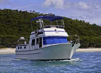 Alquilar lancha Sundecker 36 cruiser en Abel Point Marina, Airlie Beach