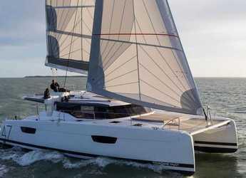 Rent a catamaran in Port Purcell, Joma Marina - Fountaine Pajot Saona 47 (Quintet) - 5 + 1 cab.