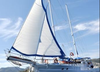 Rent a schooner in Bodrum Marina - Gulet 30