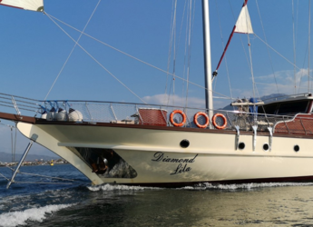 Rent a schooner in Port Gocëk Marina - Gulet Diamond Lila