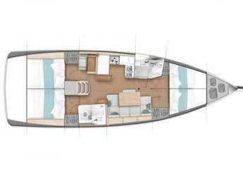 Chartern Sie segelboot in Muelle de la lonja - Sun Odyssey 440