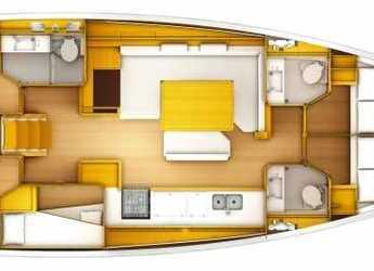 Chartern Sie segelboot in Muelle de la lonja - Sun Odyssey 519