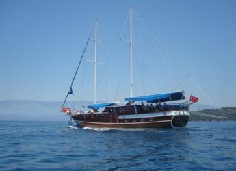 Rent a schooner in Port Gocëk Marina - Gulet Gokce