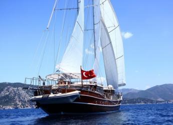 Rent a schooner in Netsel Marina - Gulet Nurten A
