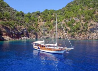 Rent a schooner in Netsel Marina - Gulet Perla del mar 1