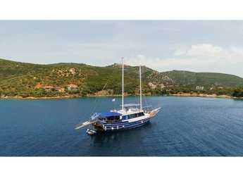 Rent a schooner in Marina Gouvia - Gulet Eros