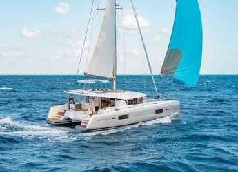 Chartern Sie katamaran in Yacht Haven Marina - Lagoon 420