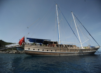 Rent a schooner in Ece Marina - Gulet LUXURY GULET PRENSES LILA