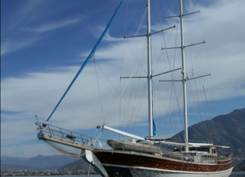 Rent a schooner in Ece Marina - Gulet PRENSES SELIN