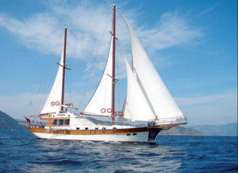 Rent a schooner in Port Gocëk Marina - Gulet SERENITY 70