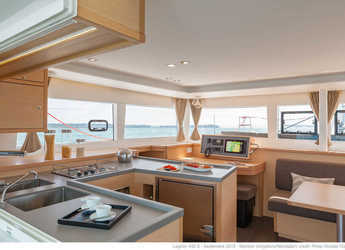 Chartern Sie katamaran in Marina di Portorosa - Lagoon 450 F