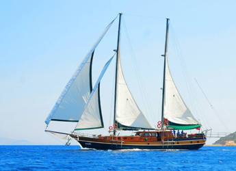 Rent a schooner in Netsel Marina - Gulet Peri