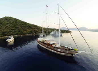 Rent a schooner in Ece Marina - Gulet Fortuna 2