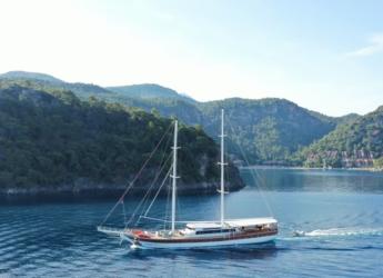 Rent a schooner in Ece Marina - Gulet 39