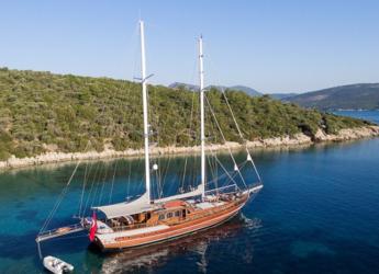 Rent a schooner in Bodrum Marina - Gulet GRACE 1