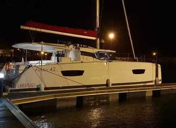 Rent a catamaran in Port of Santa Cruz de Tenerife - Fountain Pajot Astrea 42