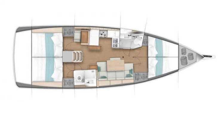 Rent a sailboat in Puerto Deportivo Radazul - Sun Odyssey 440