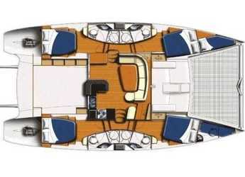 Rent a catamaran in Port Moselle - Leopard 47 PC