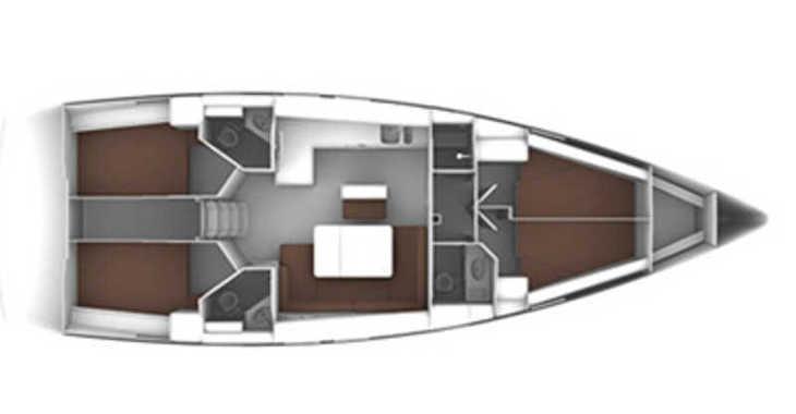 Rent a sailboat in Mykonos - Bavaria Cruiser 46