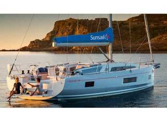 Rent a sailboat in Port Louis Marina - Sunsail 46 Mon (Premium Plus)