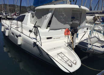 Rent a catamaran in Ece Marina - Leopard 43