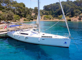 Rent a sailboat in Ece Marina - Oceanis 54