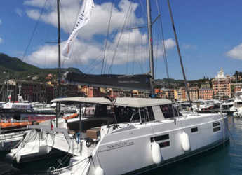 Rent a catamaran in Cagliari port (Karalis) - Nautitech Open 40