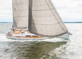 Rent a sailboat in Port of Can Pastilla - Hanse 548