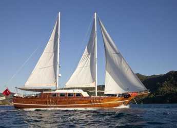Rent a schooner in Netsel Marina - Gulet SDOGU