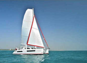 Rent a catamaran Catana 47 Custom in Port Moselle, Noumea