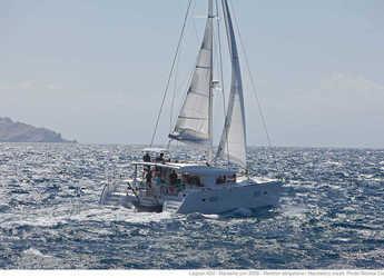 Chartern Sie katamaran in Marina Frapa - Lagoon 40