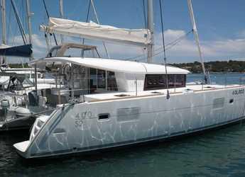 Chartern Sie katamaran in Muelle de la lonja - Lagoon 400 S2
