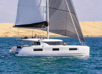 Rent a catamaran in Port Lavrion - Lagoon 46