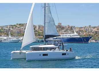 Rent a catamaran in Marina Skiathos  - Lagoon 42 AC & GEN