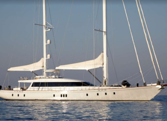 Rent a schooner in Marina Mandraki - Gulet Glorious II