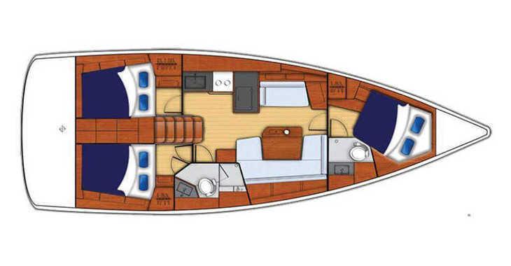 Rent a sailboat in Wickhams Cay II Marina - Moorings 42.1 (Exclusive)