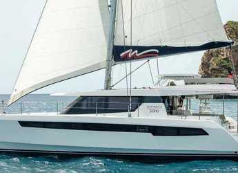 Rent a catamaran in Port of Mahe - Moorings 5000-5