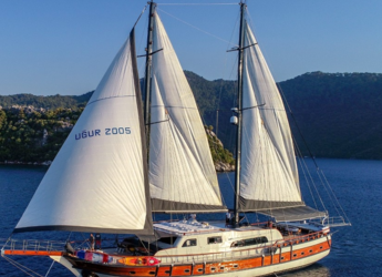 Rent a schooner in Netsel Marina - Gulet Ugur