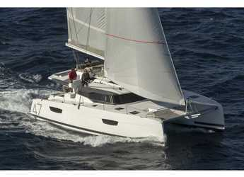 Rent a catamaran in Marina Cala di Medici - Fountaine Pajot Saona 47