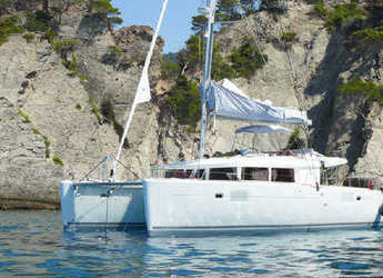 Rent a catamaran in ACI Marina Slano - Lagoon 450 (2014) equipped with generator, A/C (saloon)