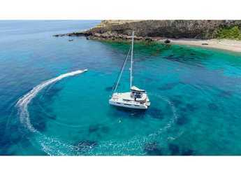 Rent a catamaran in ACI Marina Slano - Lagoon 50 LUX elegance (2019) equipped with airconditioning (saloon + cabins), generator, watermaker, ice maker, dishwasher, washer/dryer, 2 SUP, snorkelling equipment