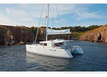 Rent a catamaran in ACI Marina Slano - Lagoon 450 F (2019) ANJA equipped with generator, A/C (saloon+cabins), water maker, washer/dryer, dishwasher, microwave oven