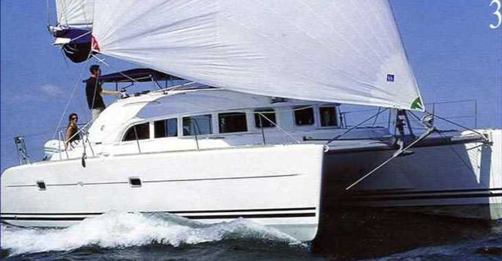 Chartern Sie katamaran in Marina Nava - Lagoon 380 (2015)